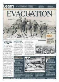 The Gallipoli poster series: Evacuation