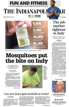 Mosquitoes put the bite on Indy