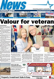 Valour for veteran