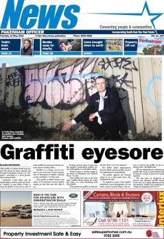 Graffiti eyesore
